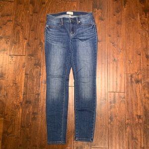 NWOT Lila Ryan skinny jeans, medium wash